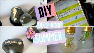 DIY ♡ Décore ta chambre pour l' été / Deco Room Summer I DIY Français - YouTube