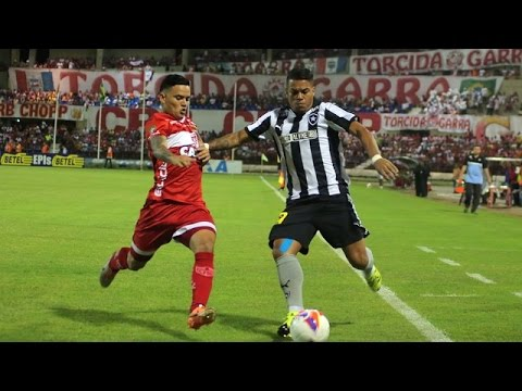 Gols da vit�ria do CRB por 2 a 1 sobre o Botafogo, pelo Brasileiro da s�rie B