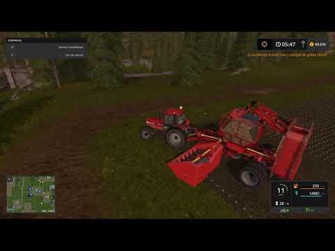 Grimme 18 Row Sugar Beet Harvester v1