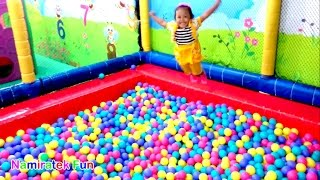 Video A Lot of Ball Pit for Toddler & Ride Odong-odong Kids Toy Car - Play Balls Pit Show & Mini Merry MP3, 3GP, MP4, WEBM, AVI, FLV Juni 2018