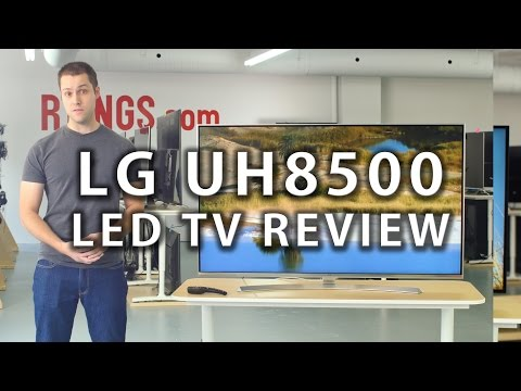 LG UH8500 TV Review