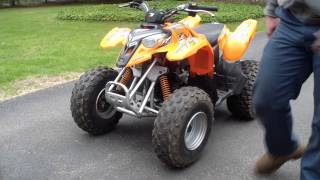 10. 2005 Polaris Predator 90cc ATV