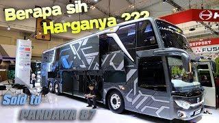 Video [REVIEW] HARGANYA WOWW !!! BUS ULTRA HIGH DECK Pertama | GIIAS 2018 MP3, 3GP, MP4, WEBM, AVI, FLV Agustus 2018