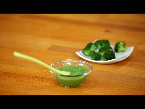 How to Make Broccoli Puree for Babies | Baby Food