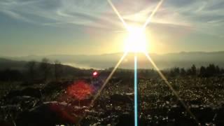 Lever du Soleil, Delémont, 17 novembre 2012