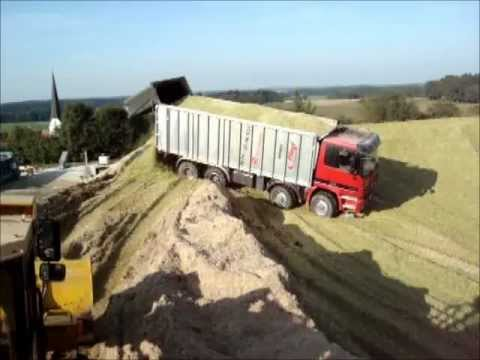 Agrotruck LKW Silage 4-Achser Agrartransporte Schmideder