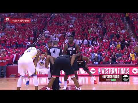 Golden State Warriors Vs Houston Rockets 1st Half Highlights -WCF Game 2
