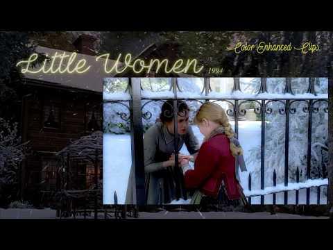 "Little Women 1994 Film - ""Mr. Davis!!"" (Color Enhanced Clips) HD"