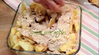 How to Make Apple Crumble