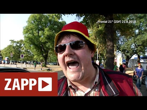 Dresden: Pegida-Demo vs. TV-Team von ZDF | ZAPP | NDR