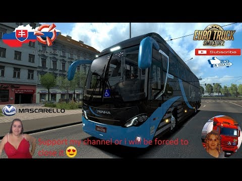 Bus MERCEDES-BENZ MASCARELLO ROMA R8 v1.1