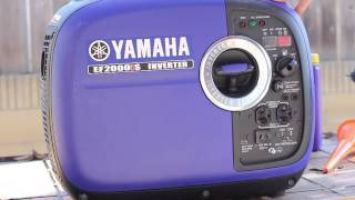 1. Yamaha EF 2000is Generator Break In Oil Change and Review