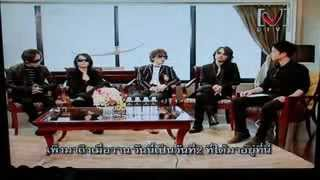 L'Arc en Ciel - Exclusive Interview By Channel [V] Thailand 13 March 2012 Part 1