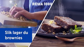 Sjokoladebrownies | REMA 1000