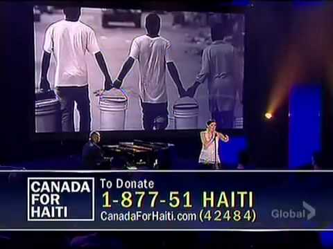 0 Nelly Furtado 'Try' – live at Hope for Haiti telethon