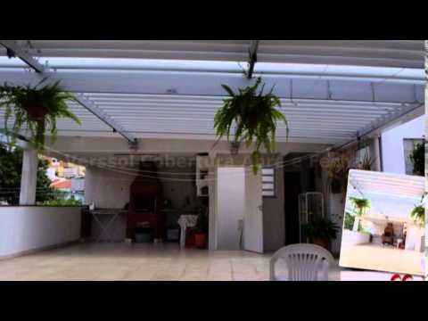 Cobertura Retrátil | Tecnoteto - Telhado Móvel - Abre e Fecha -  Policarbonato - Toldos - Brise Articulado