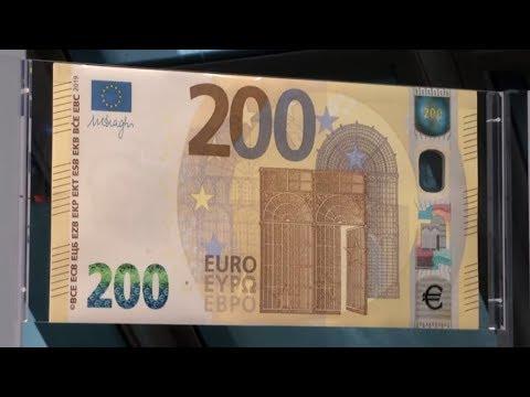 Schwerer zu fälschen: Das macht neue 100- und 200-Eur ...