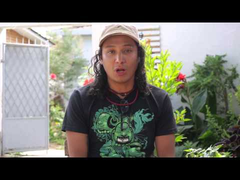 Street artist Pablo on cultural exchange and Sustainable Bolivia