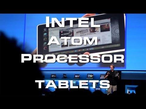 Tablets: New Intel Atom Processor