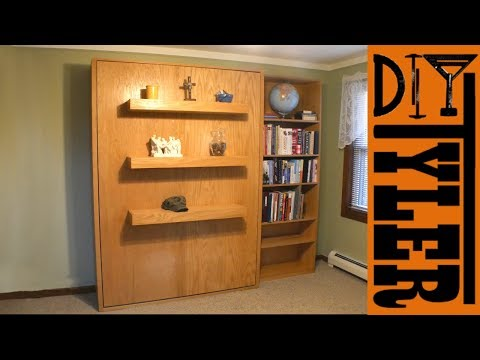 Murphy Bed with Cheap $20 Hardware