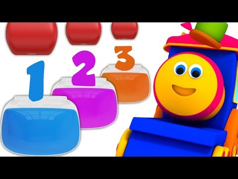 Learn Colors with Bob Fun Series | Preschool Learning Videos - Kids TV