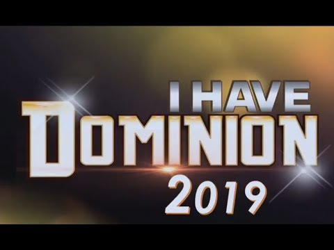 DOMINION SERIES (3) #SHILOH2018 #YEAR2019 #IHAVEDOMINION #ITAKEDOMINION