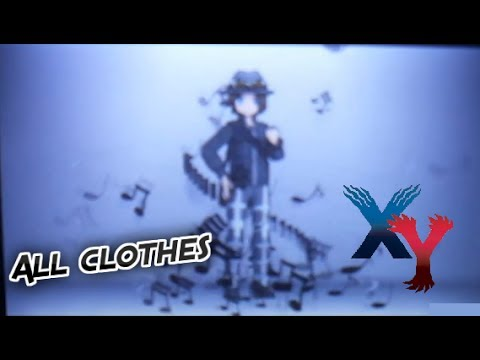 how to buy clothes in pokemon x