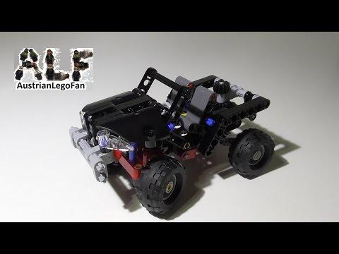Vidéo LEGO Technic 8066 : Le tout-terrain