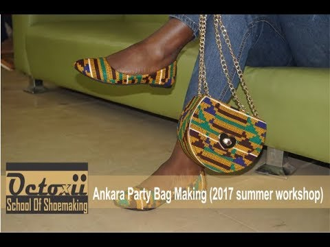 Ankara Party Bag Making ( 2017 Summer Workshop)
