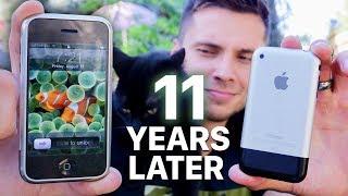 Using The ORIGINAL iPhone 2G in 2018! (Modern Torture)