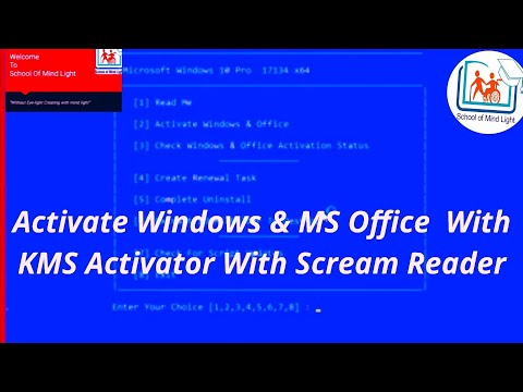 How to crack or active Windows and Microsoft Office