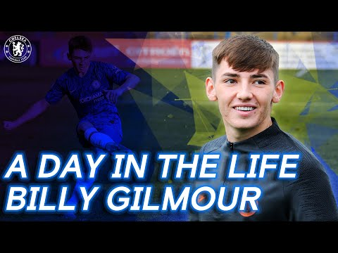 """I Look Up To Cesc Fabregas"" A Day In The Life Of Billy Gilmour"