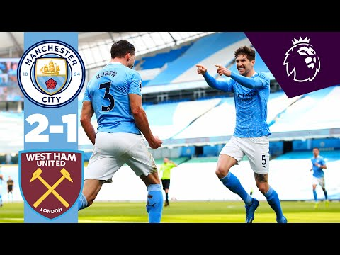 HIGHLIGHTS | CITY 2-1 WEST HAM | BEST OFFENCE IS DEFENCE