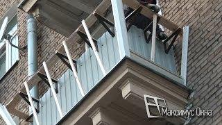 Увеличение площади балкона за счет выносного остекления