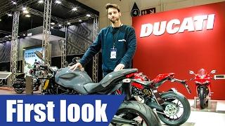 5. Ducati Monster 1200 S & R first look | Cracking Mechanics | AutoSalon Belgium