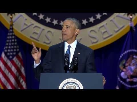 Barack Obama Farewell Speech FULL VIDEO