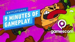 9 Minutes of Battletoads Gameplay - Gamescom 2019 by IGN
