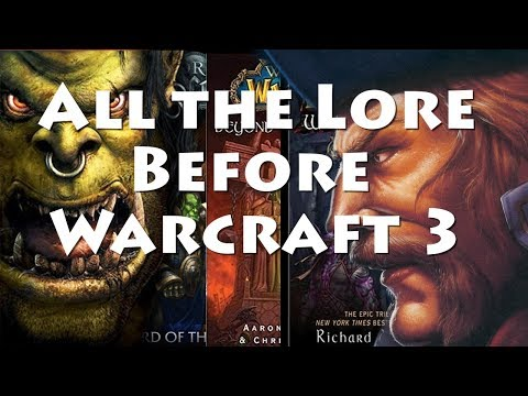 Lore Recap: All the Lore Before Warcraft 3