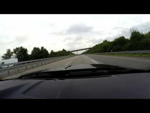 80 mph / 130 km/h on German Autobahn is like standing still
