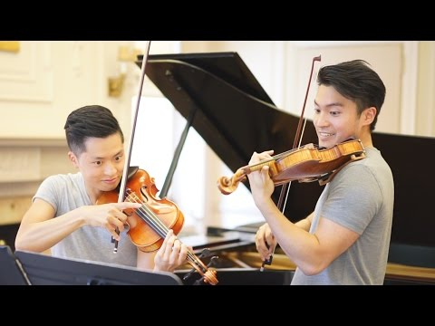 Wieniawski Etudes-Caprices, Op. 18 No. 4 - Ray Chen and Daniel Jang