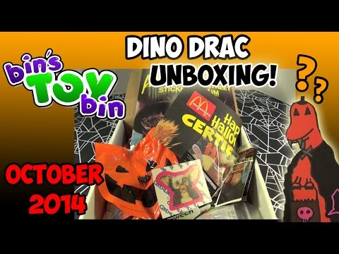 bin - What will we find inside the October Fun Pack from Dino Drac? Lots of Halloween goodness! Thanks for watching and don't forge to subscribe! More Dino Drac- ...