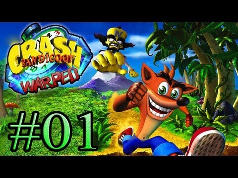crash - Parte 1 do meu Let's Play do game Crash Bandicoot Warped, jogo exclusivo para PS1. Espero que gostem =D Siga-me no twitter: http://www.twitter.com/guilhermeo...