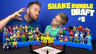 Video Toys Shake Rumble DRAFT with POKEMON GO Avengers and Teen Titans Go Toys by KID CITY MP3, 3GP, MP4, WEBM, AVI, FLV Maret 2018