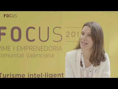 Carolina Rodríguez en Focus Pyme y Emprendimiento Comunitat Valenciana 2018
