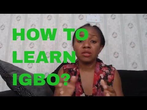 What is the most effective way to learn to speak Igbo?