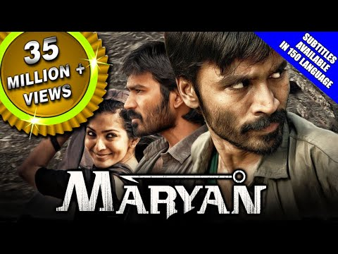 Maryan (2019) New Released Hindi Dubbed Full Movie | Dhanush, Parvathy Thiruvothu, Jagan