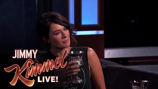 "Lena Headey plays Cersei Lannister on ""Game of Thrones"". Jimmy is obsessed with the show. He thinks that no one drinks wine ..."