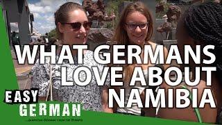 Learn German with Easy German: German learning students of Windhoek Highschool and Concordia College roam around the city center of Windhoek ...