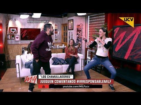 """video Las """"MILF"""" se divierten jugando a """"Los Chamulladores"""""""