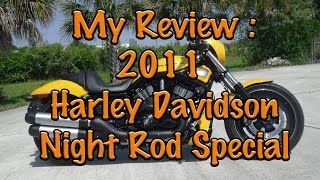 3. 2011 Harley Davidson Night Rod Special Review